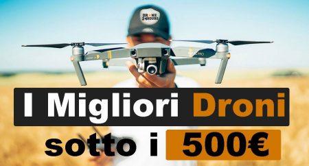sconto droni sotto i 500 euro