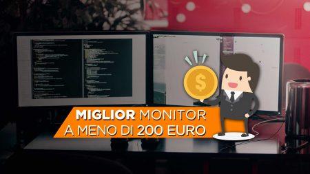 offerta monitor sotto i 200 euro