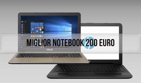 sconto notebook sotto i 200 euro