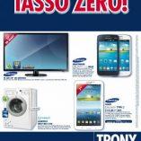 Samsung 32 pollici Trony: prezzo volantino e offerte
