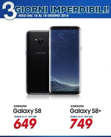 Samsung s8 plus Euronics