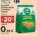 Arachidi Carrefour: prezzo volantino e guida all'acquisto