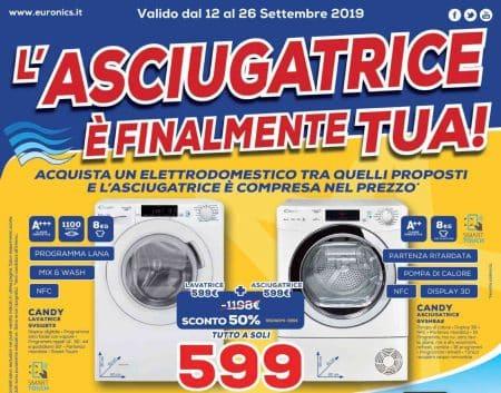 asciugatrice Bosch Euronics
