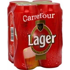 birra in lattina carrefour