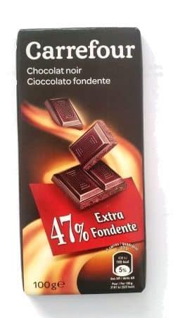 cioccolato fondente carrefour