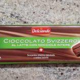 Cioccolato svizzero Eurospin: prezzo volantino e confronto prodotti