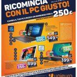 Computer portatili Unieuro: prezzo volantino e offerte