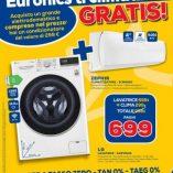 Condizionatore e asciugatrice Euronics: prezzo volantino e offerte