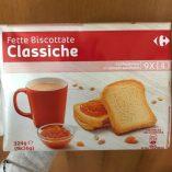 Fette biscottate Carrefour: prezzo volantino e guida all'acquisto