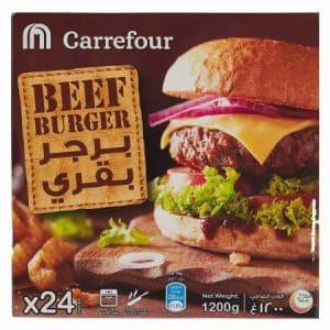 hamburger carrefour