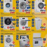 Lavatrice 5 kg Euronics: prezzo volantino e offerte