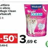 Lettiera silicio Carrefour: prezzo volantino e offerte