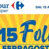 Nuovo volantino sbircia Carrefour: prezzo volantino e confronto prodotti