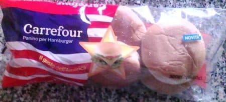 panini hamburger carrefour