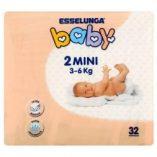 Pannolini baby Esselunga: prezzo volantino e offerte
