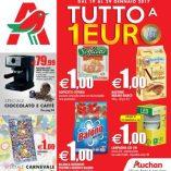 Piselli Auchan: prezzo volantino e offerte