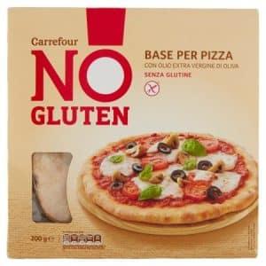 pizza senza glutine carrefour