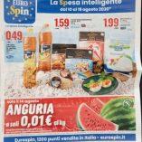 Prezzo anguria Eurospin: prezzo volantino e guida all' acquisto