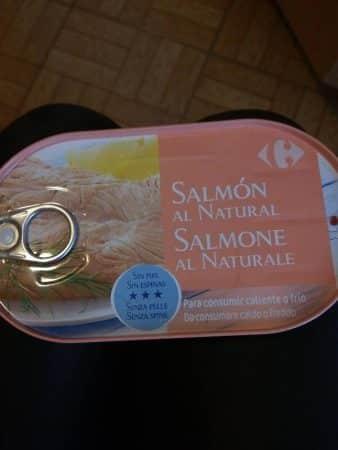 salmone al naturale carrefour