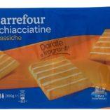 Schiacciatine Carrefour: prezzo volantino e guida all'acquisto