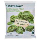 Spinaci surgelati Carrefour: prezzo volantino e offerte