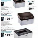 Stampante laser Euronics: prezzo volantino e confronto prodotti