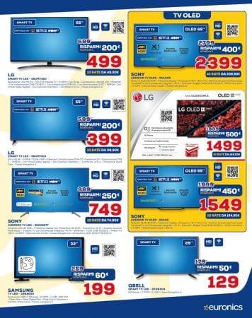 televisori Samsung Euronics
