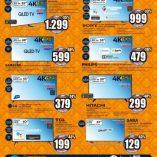 Televisori led Unieuro: prezzo volantino e offerte