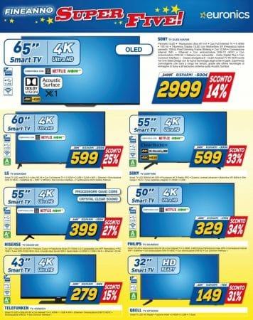 televisori telefunken Euronics