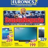 Tv 40 pollici Euronics: prezzo volantino e confronto prodotti