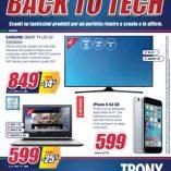 Tv Samsung curvo Trony: prezzo volantino e offerte