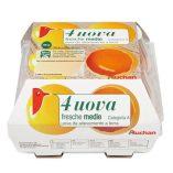 Uova Auchan: prezzo volantino e confronto prodotti