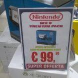 Wii u Euronics: prezzo volantino e offerte